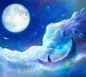О влиянии Луны. Луна без курса.
